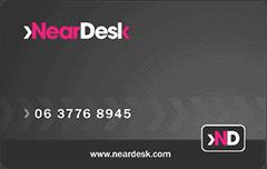 neardesk card